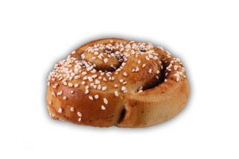 Kanelbullar– Innehållsförteckning; VETEMJÖL, vatten, socker, vegetabilisk olja (HAVRE,palm,raps), ÄGG, jäst, VETEGLUTEN, modifierad stärkelse, kardemumma, kanel, salt, potatisgranulat, druvsocker, konserveringsmedel (E202), emulgeringsmedel (E471), arom, surhetsreglerande medel (E330), vitamin A och D