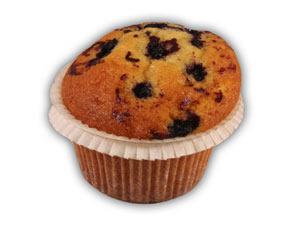 Muffins citron/blåbär– Innehållsförteckning; Socker,vetemjöl,vatten,veg.olja,blåbär äggpulver,pot.stärkelse,bakpulver (E450,E500),druvsocker,aromämnen, arom,salt,färgämne (E160a, E104), modifierad stärkelse, konserveringsmedel (E202)