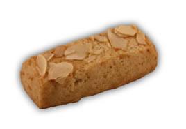 Osötade finska pinnar– Innehållsförteckning; Vetemjöl,margarin (veg.fett och olja, vatten,salt,emulg.medel (E475,E471),surhetsreg.medel, (citronsyra),arom),mandel,fruktsocker, ägg,vetegluten,aromämnen,bakpulver (hjorthornssalt).