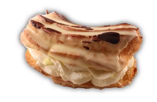 Petit CH. Bananbakelse– Innehållsförteckning; GRÄDDE, vatten, banan, socker, VETEMJÖL, MJÖLK, ÄGG, vegetabiliskt fett (raps), arom, ÄGGULA, VETESTÄRKELSE, glukossirap, vegetabiliskt fett (palm) & fullhärdat vegetabiliskt fett (palm), modifierad majsstärkelse, modifierad stärkelse, kakaopulver, ÄGGVITA, emulgeringsmedel SOJALECITIN, vaniljstång, bakpulver E450, bakpulver E500, färgämne E100, konserveringsmedel E211, salt, stabiliseringsmedel (E407), surhetsreglerande medel E330, vanillin.