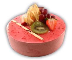 Mousse hallon– Innehållsförteckning; GRÄDDE, hallonpuré, socker, vatten, ÄGGVITA, invertsocker, VETEMJÖL, PASTÖRISERADE ÄGG, gelatin (gris), vindruva, vegetabilisk olja (palm,raps,kokos), kakaopulver, jordgubbar, kiwi, kakaomassa, salt, emulgeringsmedel (E471,E322 (SOJA)), druvsocker, vaniljpasta (Sötningsmedel E420, etylalkohol, vatten, aromer, färgämne E150a.), glukossirap, arom, surhetsreglerande medel (E330), arom (vanilj), geleringsmedel E440, kakaosmör, konserveringsmedel (E202, E211), stabiliseringsmedel (E407), stabiliseringsmedel E412, surhetsreglerande medel (E330, E331), vitamin A och D.